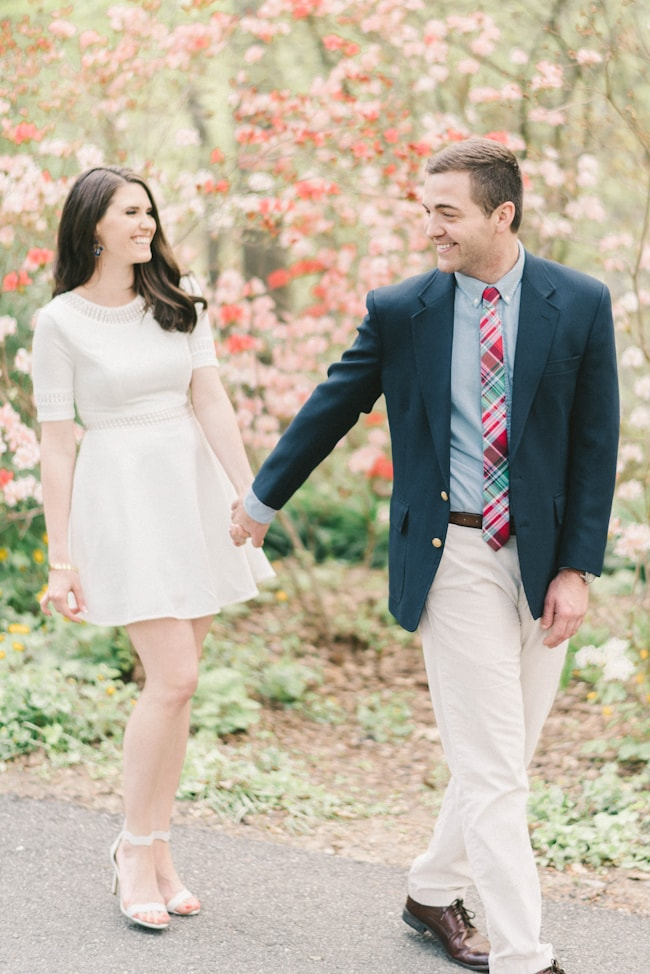 brookside gardens engagement