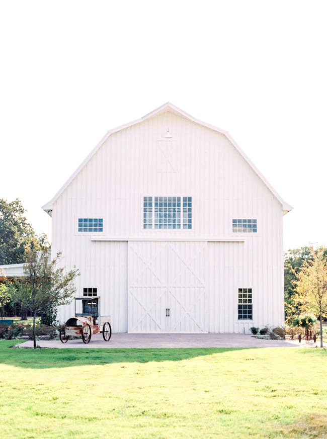 white sparrow barn