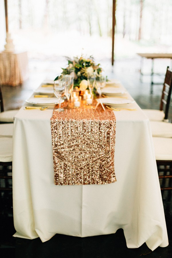 Rose gold ombre wedding shoot trendy bride fine art wedding blog wedding decor table top decor wedding decor junglespirit Image collections