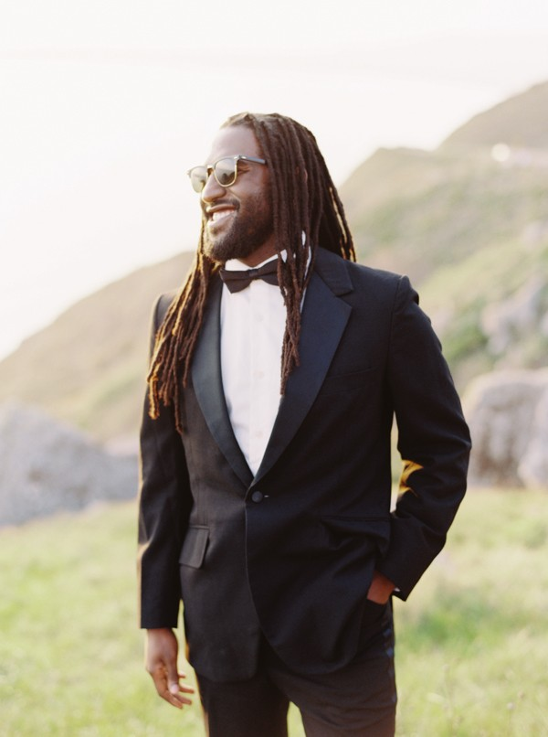 black groom