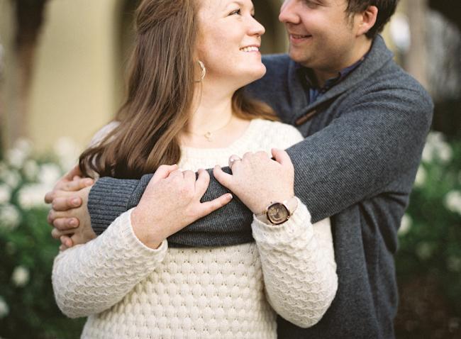 engaged fl couple