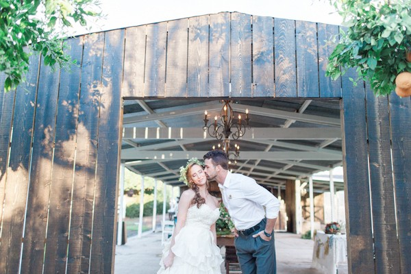 woodland romance wedding