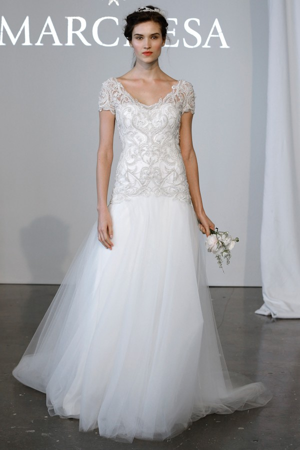 Marchesa Fashion Wedding Dress