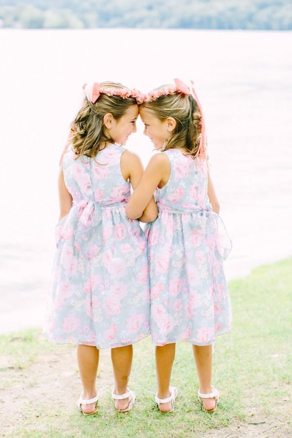 floral flowergirl dresses