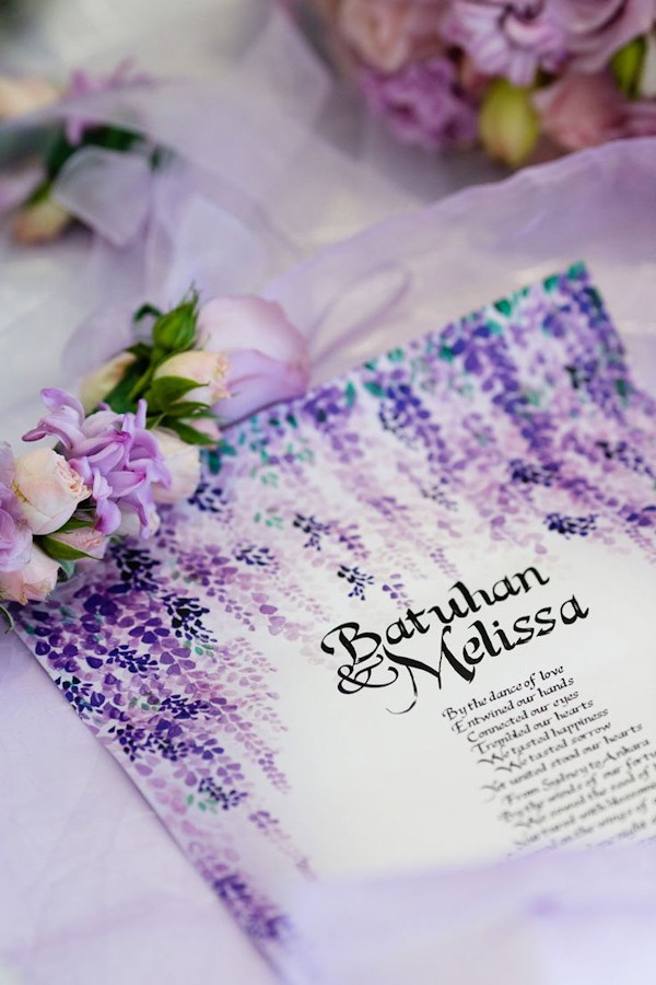 Purple Wedding Invitation Ideas — Trendy Bride - Fine Art Wedding ...