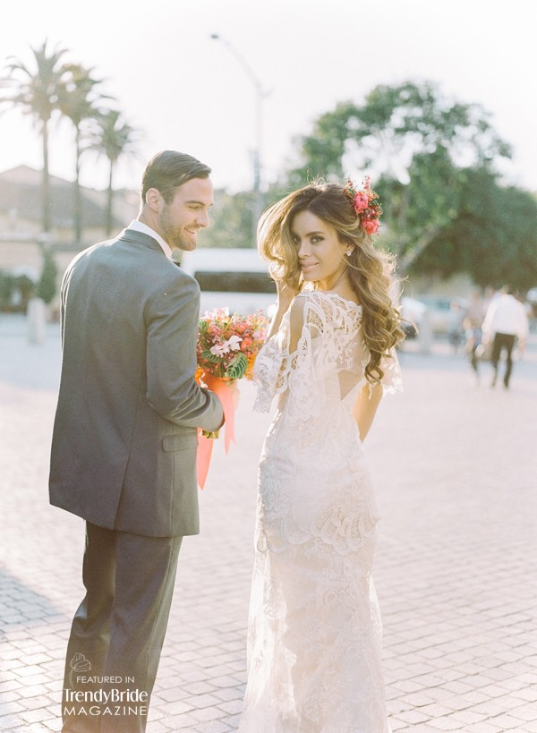 Los Angeles CA Shoot Featured in Trendy Bride Magazine — Trendy ...