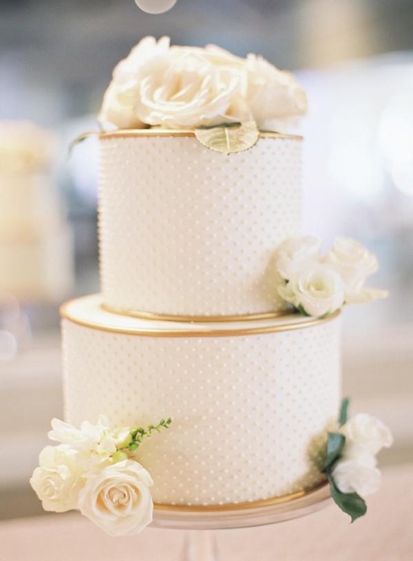 Two Tier Wedding Cake Ideas Trendy Bride Fine Art Wedding Blog