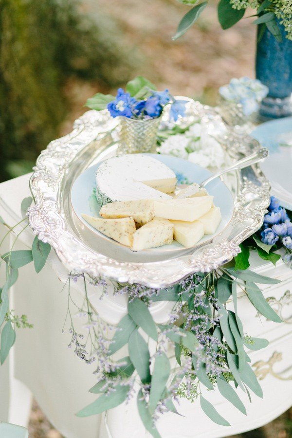 blue wedding