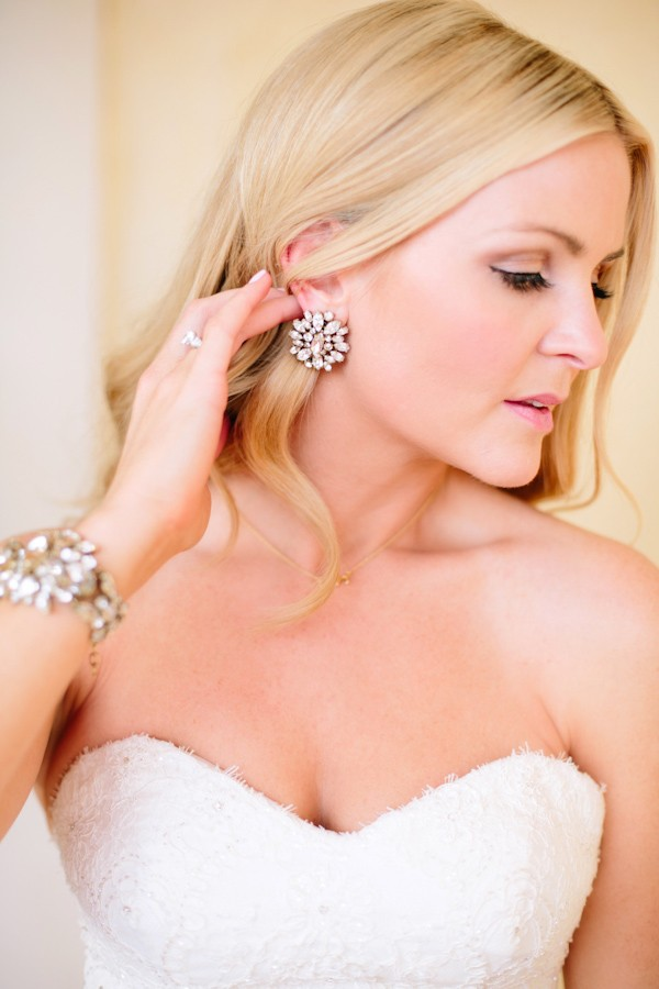 Large Stud Wedding Earrings Trendy Bride Fine Art Wedding Blog