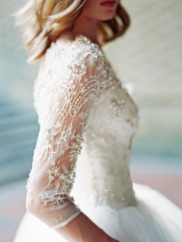 wedding dress sleeve