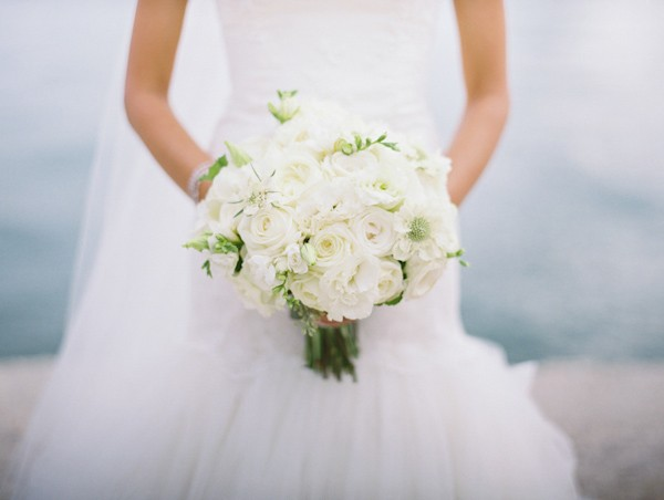 White Bridal Bouquet Ideas Trendy Bride Fine Art Wedding Blog