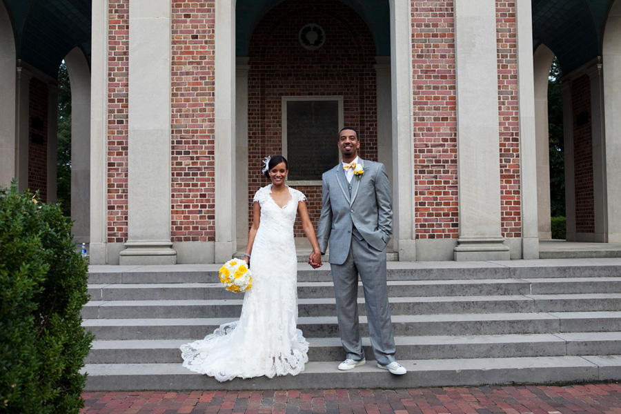 african american wedding couple