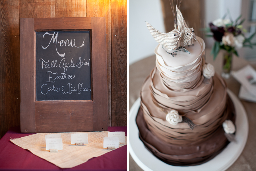 rustic wedding cakes