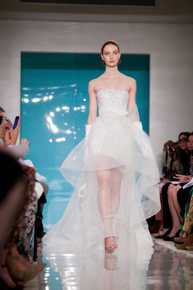 Reem Acra 2013 Spring Wedding Dress Collection — Trendy Bride - Fine ...