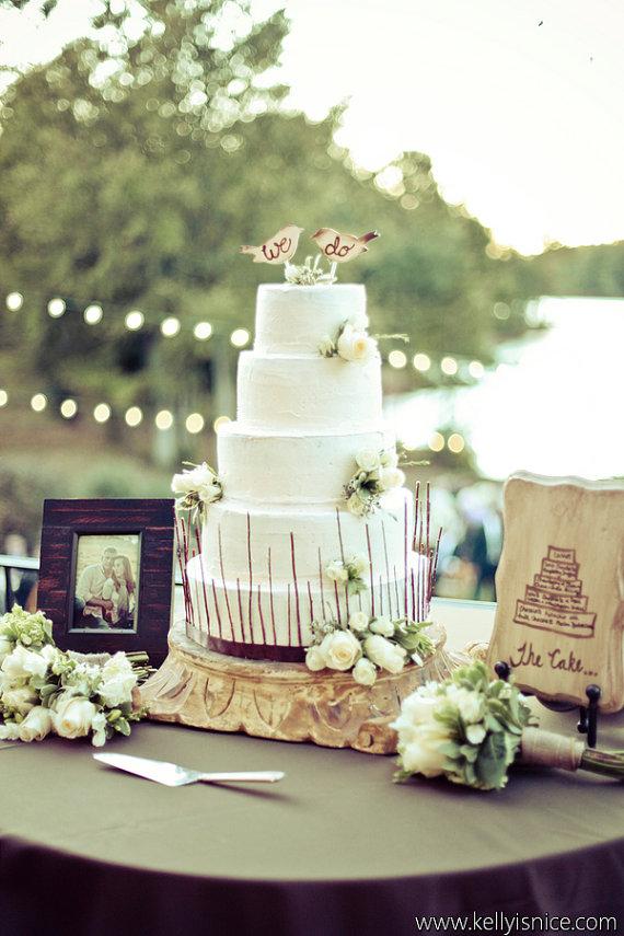 Unique Wedding Cake Toppers — Trendy Bride - Fine Art Wedding Blog ...