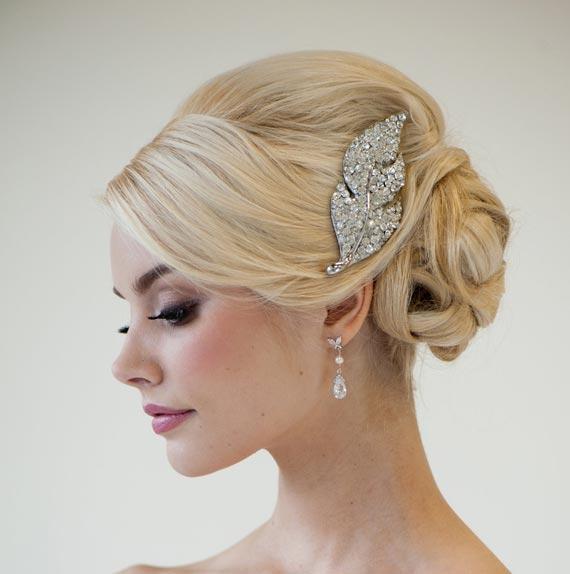 Wedding Hair Brooch Ideas Trendy Bride Fine Art Wedding Blog