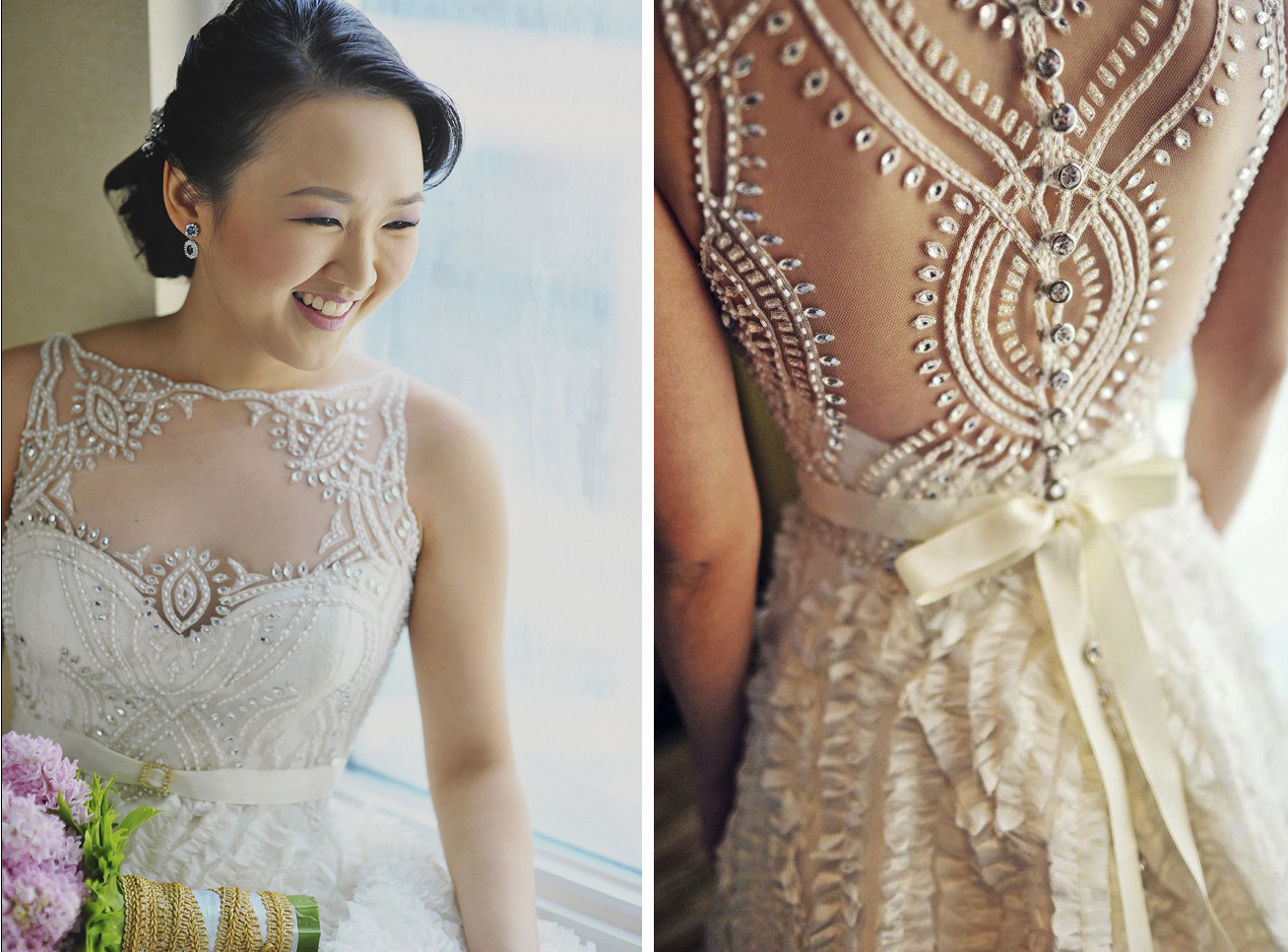 Unique Custom Veluz Wedding Dresses — Trendy Bride - Fine Art ...