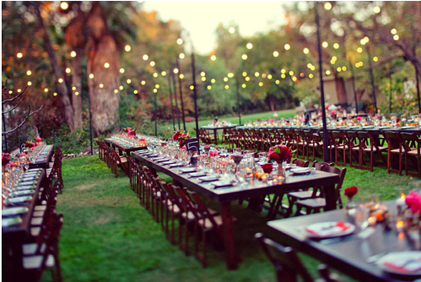 Long Table Ideas For Your Wedding Reception — Trendy Bride - Fine ...