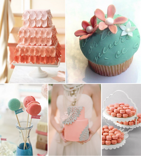 Turquoise and Coral Wedding Inspiration — Trendy Bride - Fine Art ...