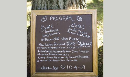 Chalkboard Wedding Ideas Destination Wedding Blog Honeymoon Travel Trendy Bride