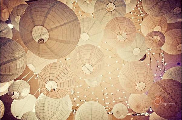 wedding paper lantern