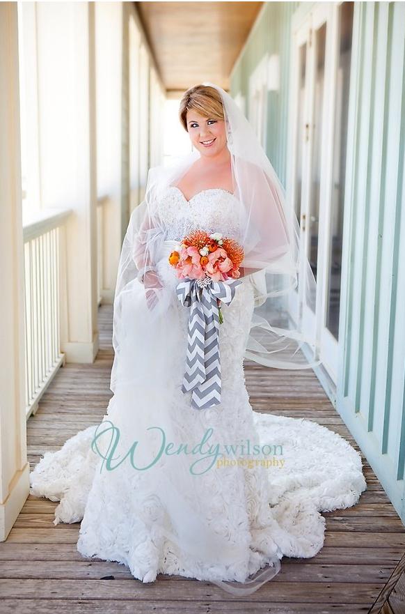 chevron wedding ideas