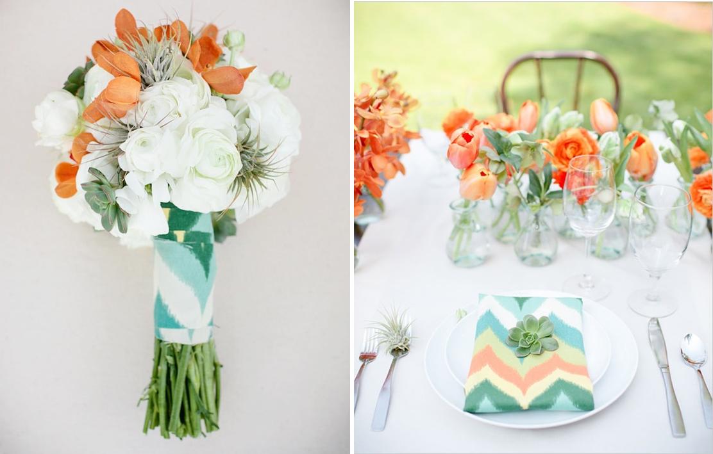 chevron wedding decor ideas