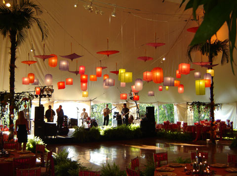 color paper lanterns