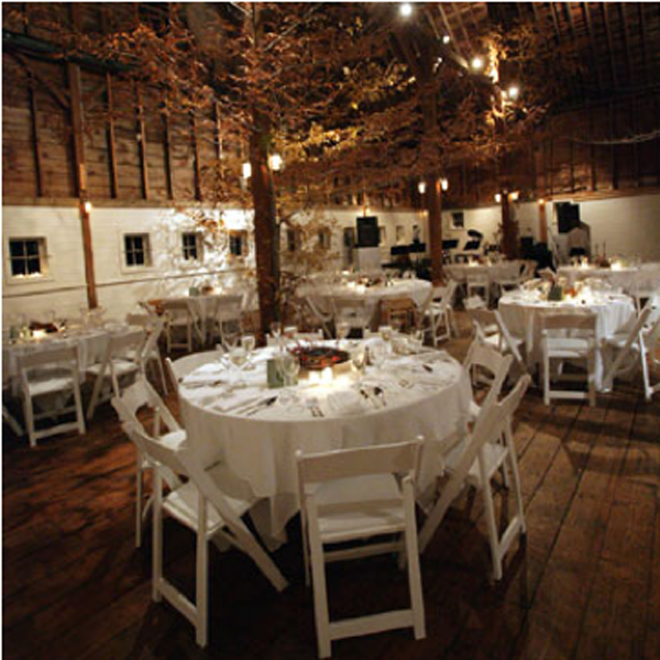 Beautiful White Rustic Wedding Decor