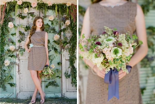 fall bridesmaid dress