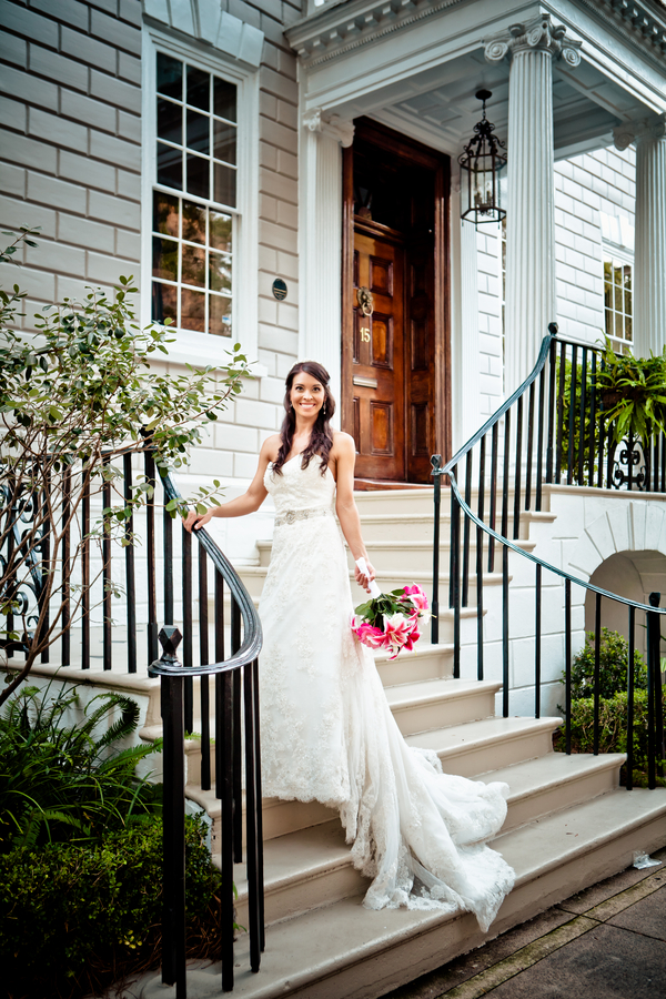 charleston sc bridal portraits