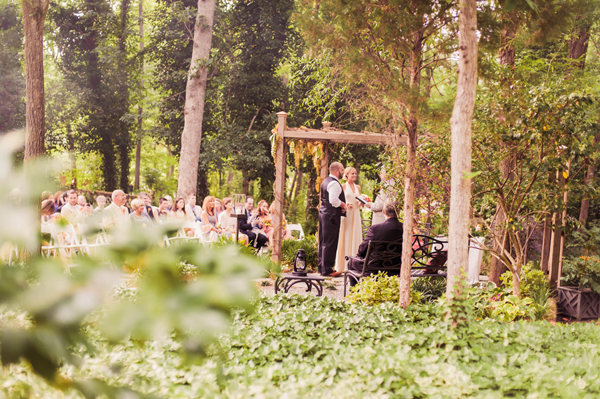 rustic north carolina real wedding