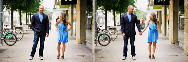 modern austin texas engagement photographer