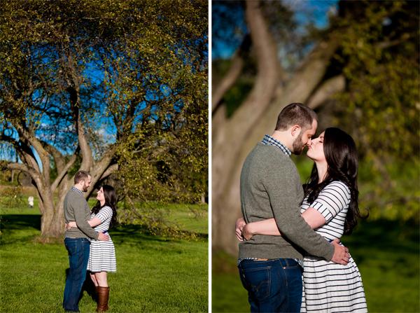 lisle chicago engagement shoot