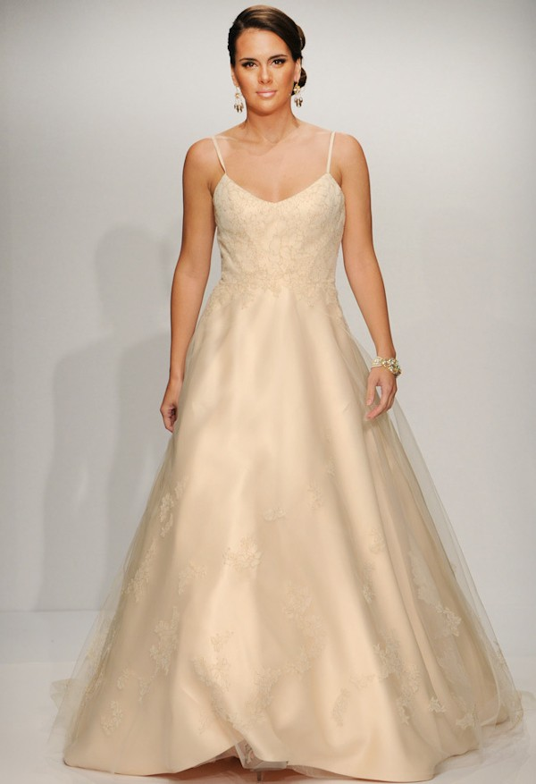 spring wedding dress