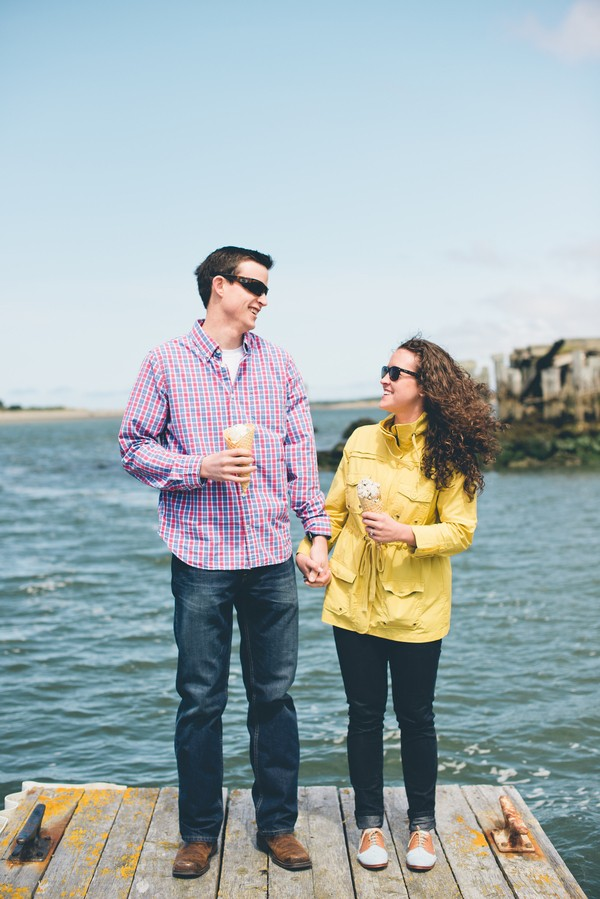 ice cream oregon engagements