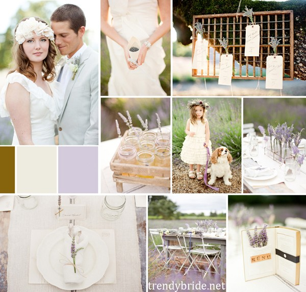 lavender weddings