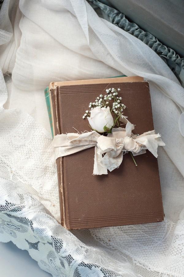 rustic wedding bible