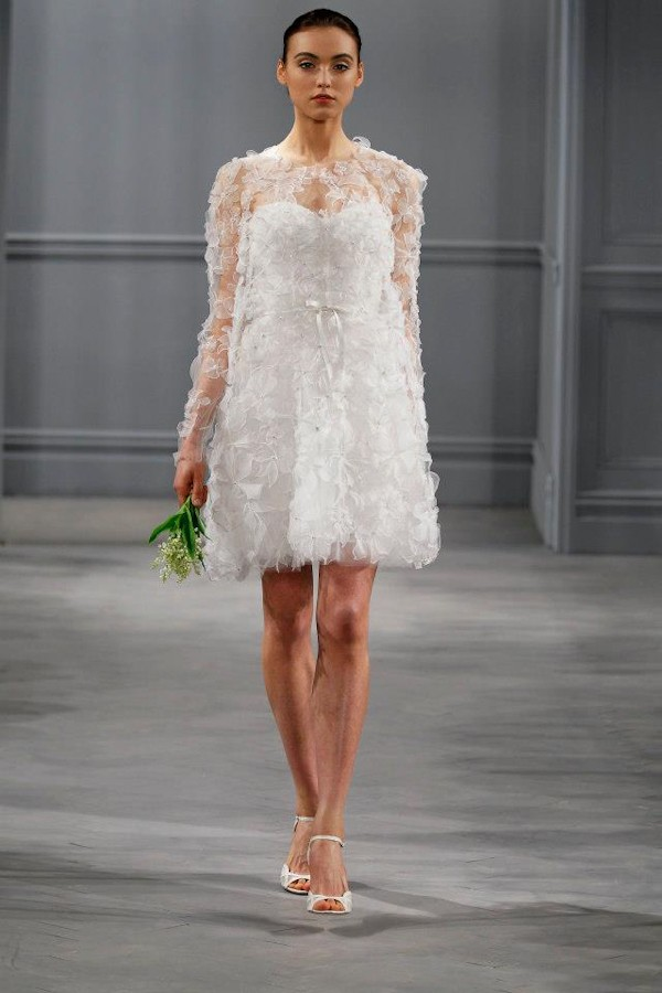 Monique Lhuillier Spring 2014 Wedding Dresses Trendy Bride Fine
