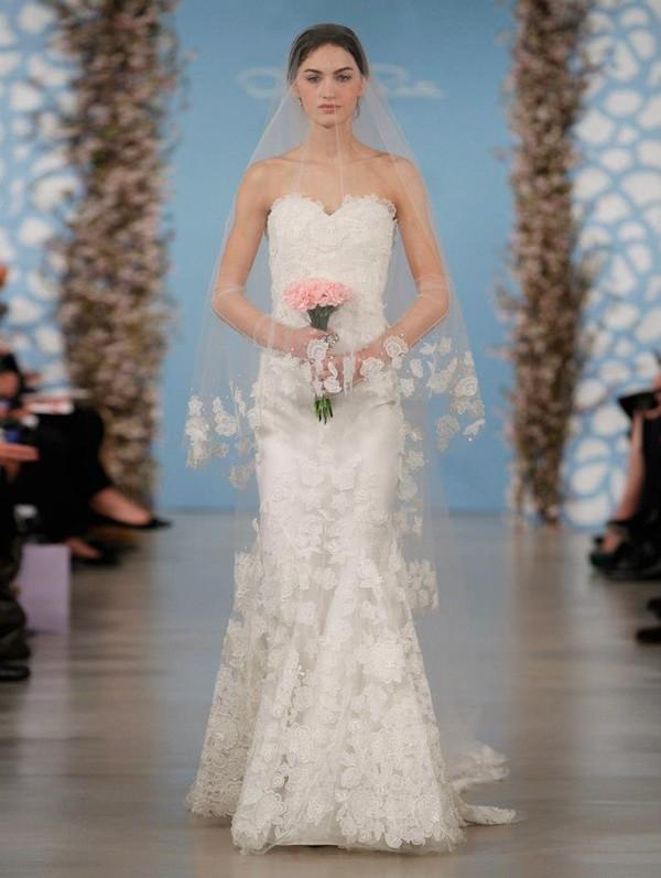 lace overlay wedding dresses