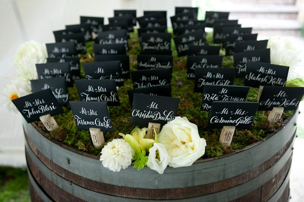 custom wine barrel seating chart