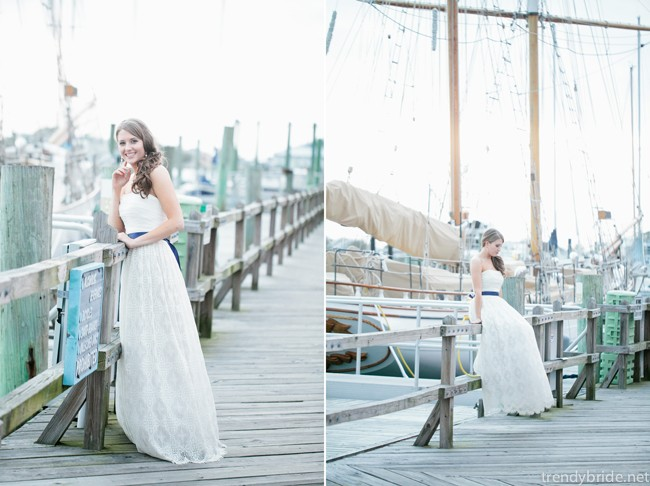 beaufort nc bridal portraits