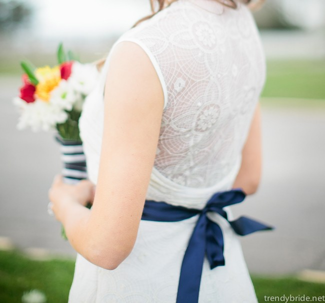 the cotton bride wedding dress