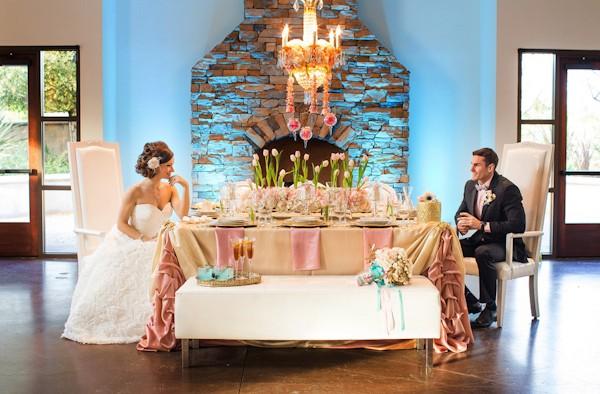 styled french wedding shoot