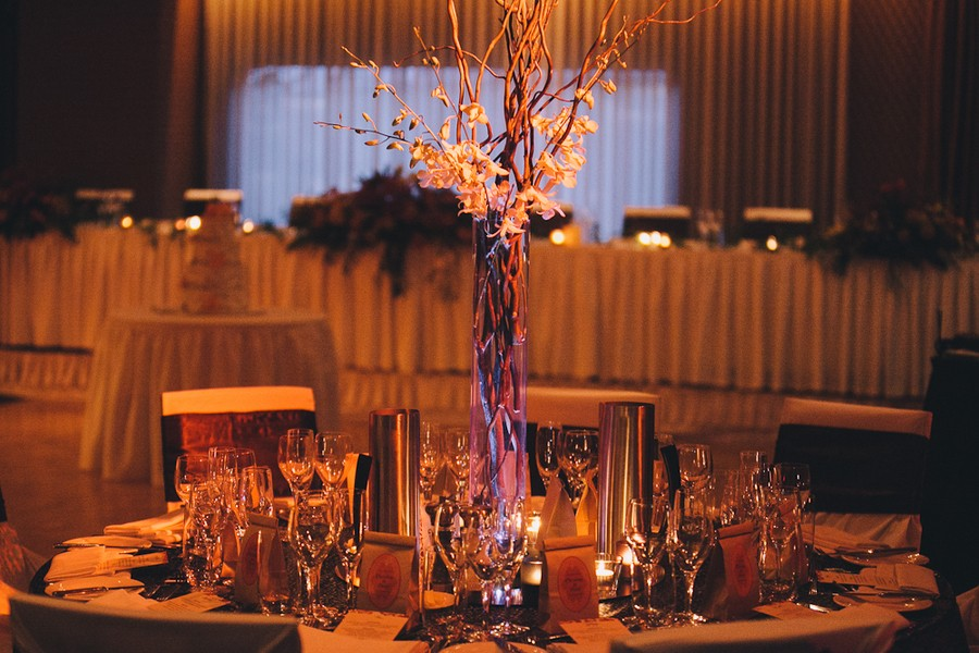 tall twig centerpieces