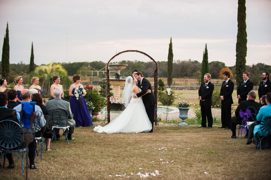 texas peacock wedding