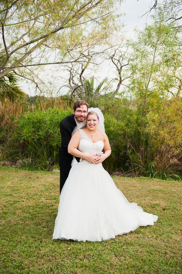 texas wedding couple