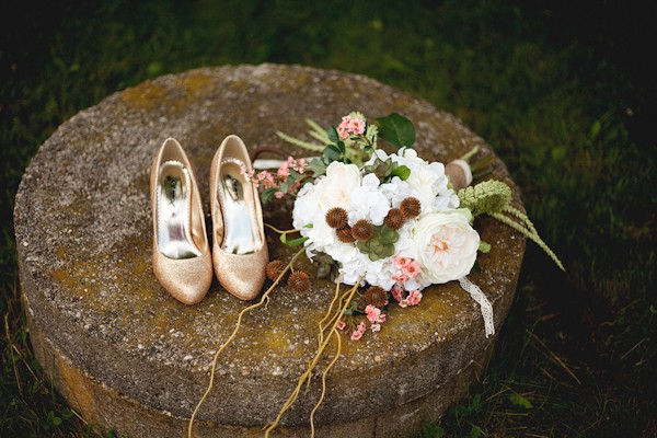 trendy vintage wedding