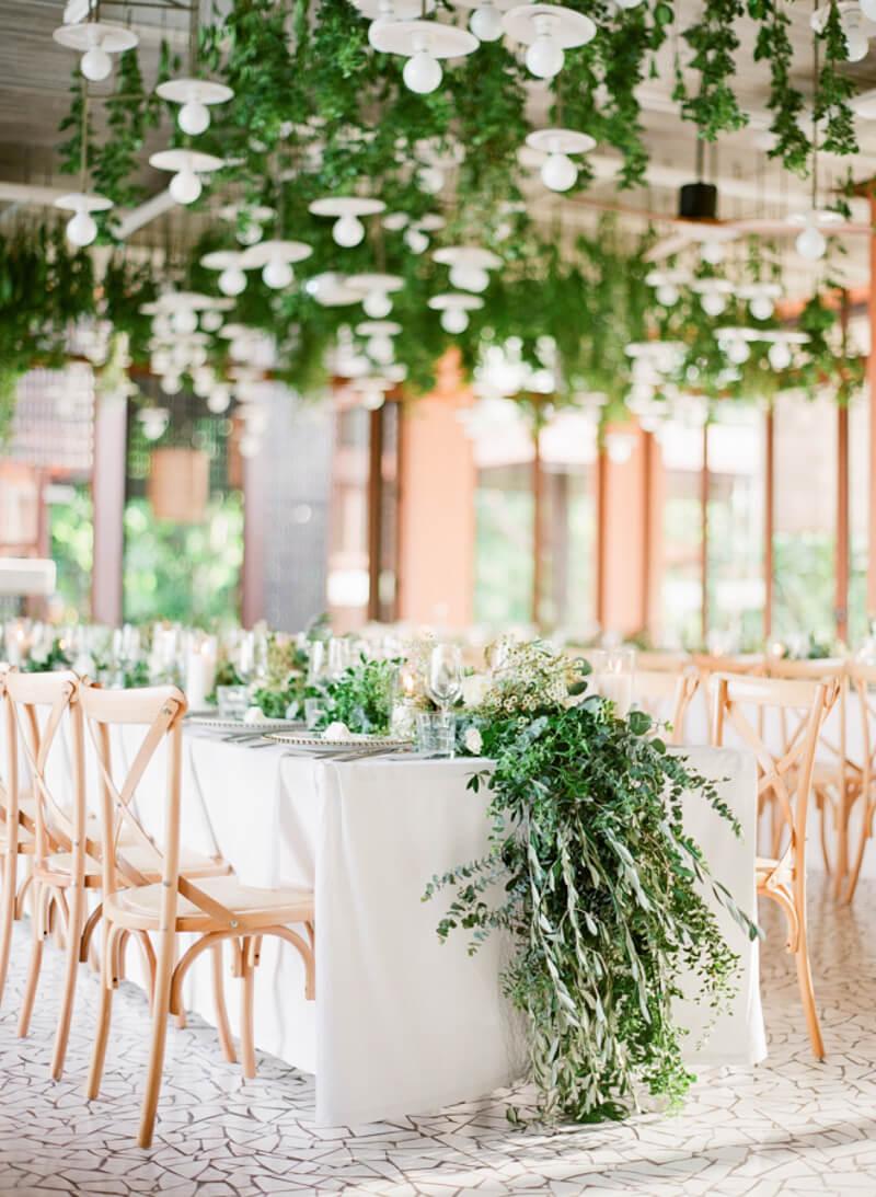 Ways To Incorporate Greenery Wedding Ideas Destination