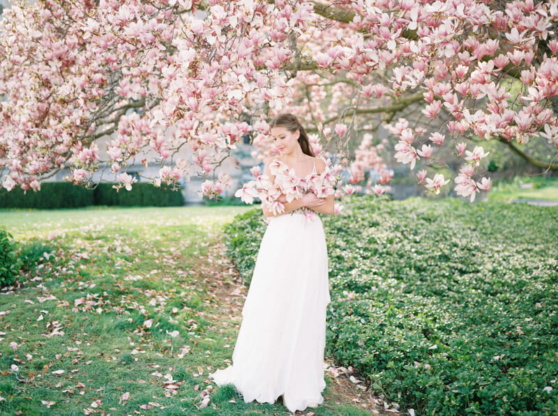 Spring wedding shoot trendy bride fine art wedding blog spring wedding shoot fine art film contax 645 junglespirit Choice Image